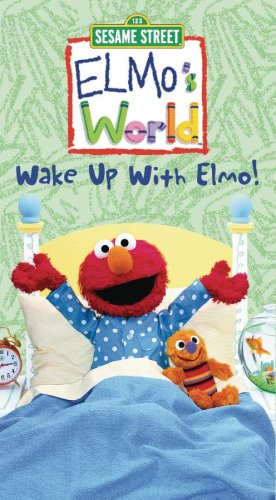 Elmo S World Wake Up With Elmo Vhs Import It All