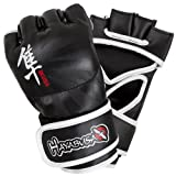 Hayabusa Ikusa MMA Gloves, 4-Ounce/Large, Black