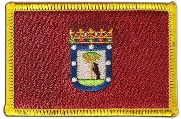 Digni Bandera de España de la ciudad de Madrid parche + libre ...