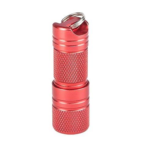 Seasaleshop - Mini Linterna LED de Bolsillo con batería ...