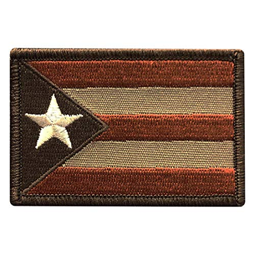 Puerto Rico Flag Tactical Morale Hook Patch (PR1)