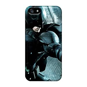 Durable Defender Case For Iphone 5/5s Tpu Cover(batman Bane Fight)