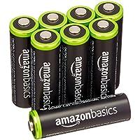 AmazonBasics AA Rechargeable Batteries (8-Pack)...