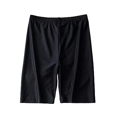 DKXLW Pantalones Cortos De Mujer,Verano Negro Neón Vintage Shorts De Cintura Alta Mujer Biker Shorts Shorts Cortos Sexy Feminino Algodón Pantalones De Chándal,S: Deportes y aire libre