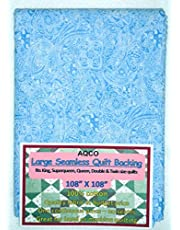 Quilt Backing, Large, Seamless, from AQCO, Light Blue, C49662-400