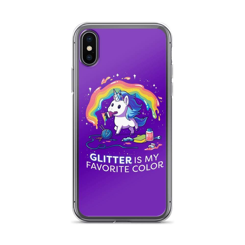 Rainbow Unicorn Quote iPhone 7 Case