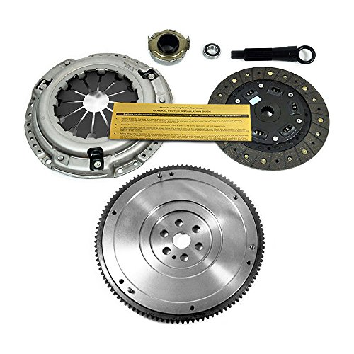 EFT HD CLUTCH KIT&OEM FLYWHEEL 92-05 HONDA CIVIC DX LX EX HX GX 1.5 1.6 1.7L ()