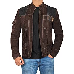 Han Solo A Star Wars Story Leather Jacket | L