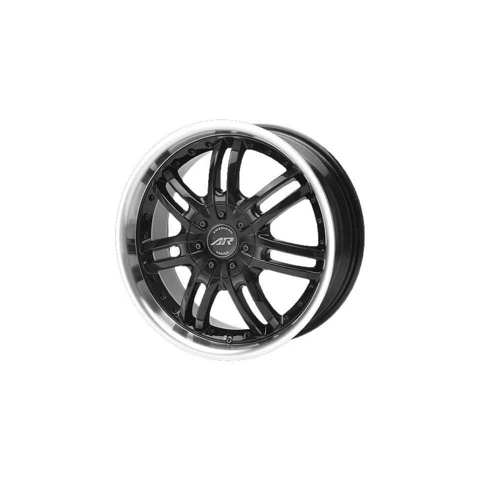 American Racing Haze 18x7.5 Black Wheel / Rim 4x4.5 with a 45mm Offset and a 72.70 Hub Bore. Partnumber AR36387548
