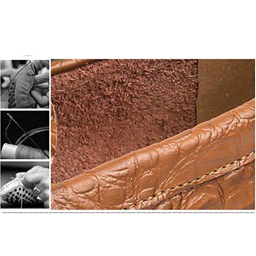 YXLONG Scarpe Nuovi Scarpe Guida Uomo Piselli Uomo Da In Estate Piede Scarpe Uomo Pelle greenbreathable Moda Inghilterra Pigro Da Da Scarpe 5rq75I