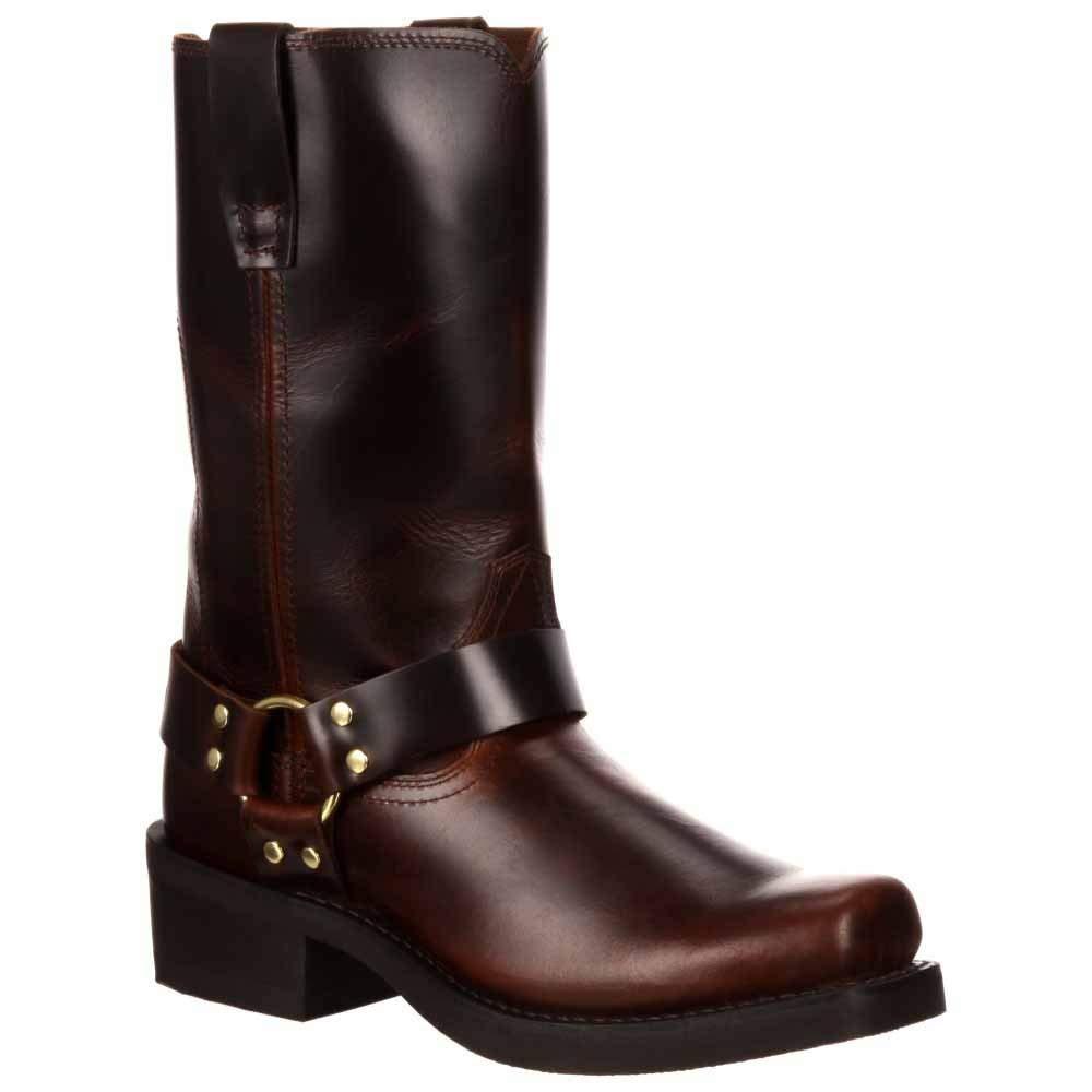 Durango Men's Harness 11-Inch Rubbed Brown 14 2E