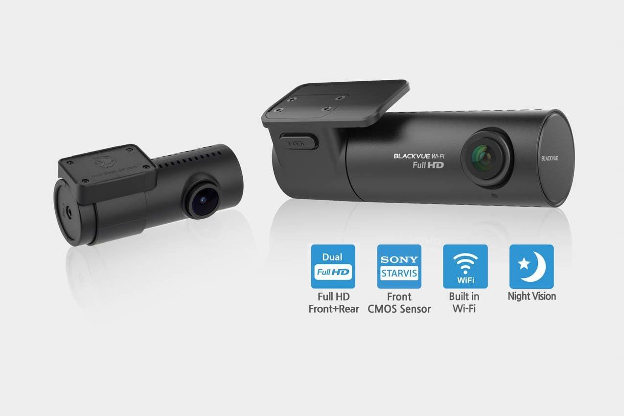 Blackvue DR590W-2CH Dashcam w// 16gb MicroSD Card