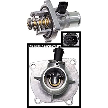 APDTY 013932 Upper Thermostat w//Housing Seals /& CTS Coolant Temperature Temp Sensor 2009-2016 Chevrolet Aveo 2011-2016 Cruze 2012-2016 Sonic 2009-2010 Pontiac G3 Replaces 55597008, 131-183