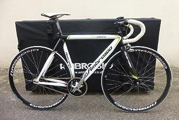 AMBROSIO Wallfillers bicicleta transporte caja B144B con bolso de la rueda: Amazon.es: Deportes y aire libre