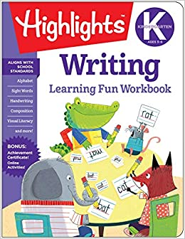 Kindergarten Writing Highlights Tm Learning Fun Workbooks