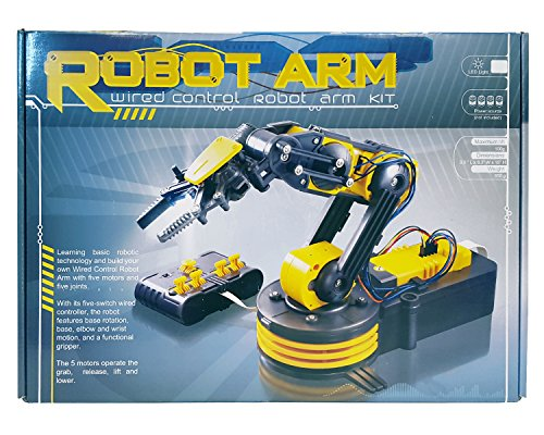 Circuit-Test Robotic Arm Edge Kit with Wired Controller - Learn Robotics Educational Kit by Circuit-Test (Image #1)