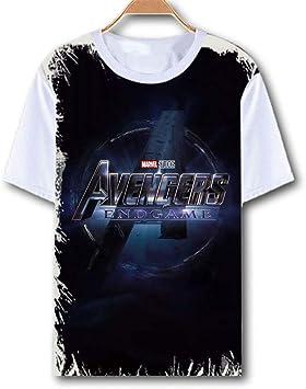 Camiseta Avengers Endgame Iron Man Thor Viuda Negra Hulk Capitán América Thanos Marvel Comics Superhéroes Niños Adultos Tamaño Camiseta: Amazon.es: Bricolaje y herramientas