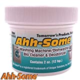 Ahh-Some - Washing Machine Cleaner & Dishwasher Cleaner -Works For All Washer Top & Front Loaders Front Removes Odor, Residue, Mold, Mildew, And Fungi