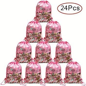 Micher 24 Pack LOL Bolsa de fiesta con lazo, Favores de fiesta ...