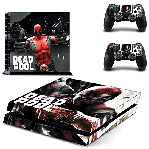 lucky-store-brand-new-ps4-console-and-2-controllers-deadpool-skin-decals-of-marvel-deadpool-designed