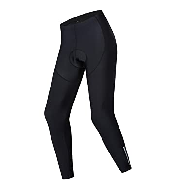 JPOJPO Mens Cycling Pants 4D Padded Tights Bicycle Leggings Outdoor Cyclist Riding Bike Wear