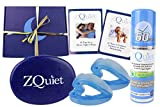 ZQUIET Original Anti-Snoring Mouthpiece Solution, 2-Size Comfort System Starter Kit, Deluxe Gift Box Set - Made in USA & FDA Cleared, Natural Sleep Aid Device, Works for Men or Women