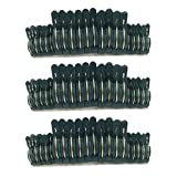 Homyl 60x Reusable Spring Loaded Sprung Plastic Plant Clips Garden Ties Easy Use Small & Large Sizes Pack