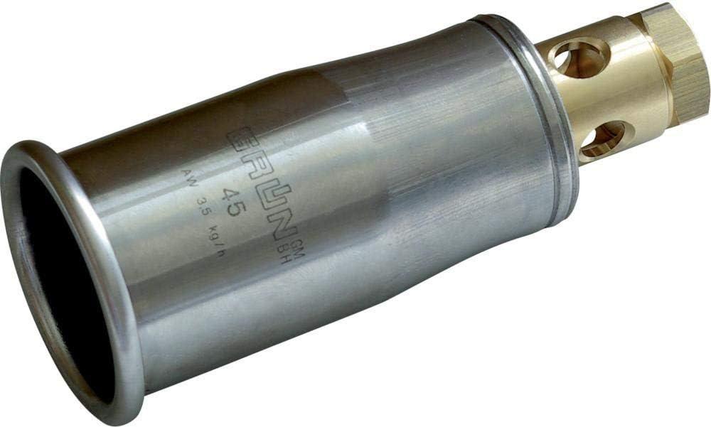 Edelstahl-Brennerkopf D 45