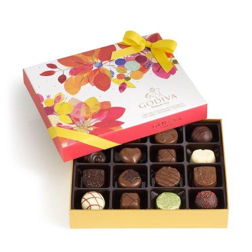 GODIVA Chocolatier 16 pc. Spring Gift Box 19 Pieces
