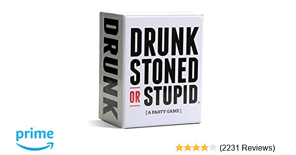 Amazon DRUNK STONED OR STUPID A Party Game Toys Games