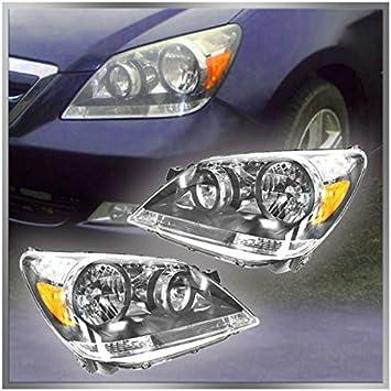 Fits 2005-07 CHEVROLET SILVERADO 1500 2500 3500 Headlights//lamp Pair Left right