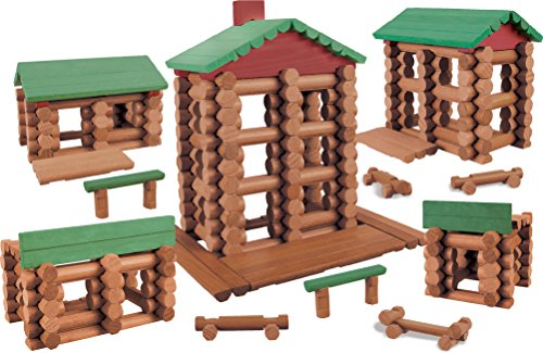 Review LINCOLN LOGS –Collector's Edition Village – 327 Pieces – For Ages 3+ – Preschool Education Toy