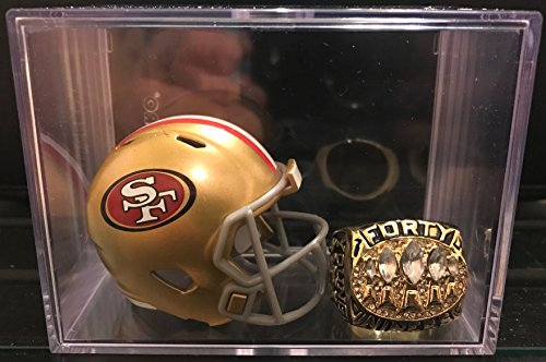 San Francisco 49ers Super Bowl XXIX Ring and Helmet (San Francisco 49ers Collectible Replica)