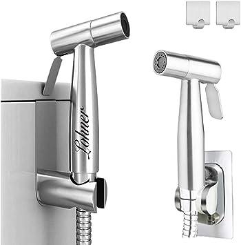 Lohner Bidet Toilet Sprayer Set Handheld Bidet Sprayer Kit Diaper Sprayer Set For Self Cleaning Brushed Nickel Amazon Ca Baby
