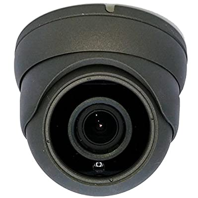 NA Stream 1080p Dome camera 2MP TVI/AHD/CVI/CVBs 4 in 1, 3.6mm Wide Angle lens, night version up to 80ft, 1920x1080p Outdoor Indoor Surveillance Camera from NA Stream
