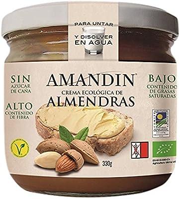Amandin Crema de Almendras - Paquete de 12 x 330 gr - Total: 3960 gr: Amazon.es: Alimentación y bebidas