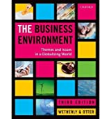 [(The Business Environment: Themes and Issues in a Globalizing World )] [Author: Paul Wetherly] [Jan-2014]