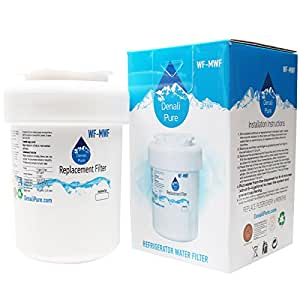 Replacement General Electric PSS29NHPABB Refrigerator Water Filter - Compatible General Electric MWF, MWFP Fridge Water Filter Cartridge