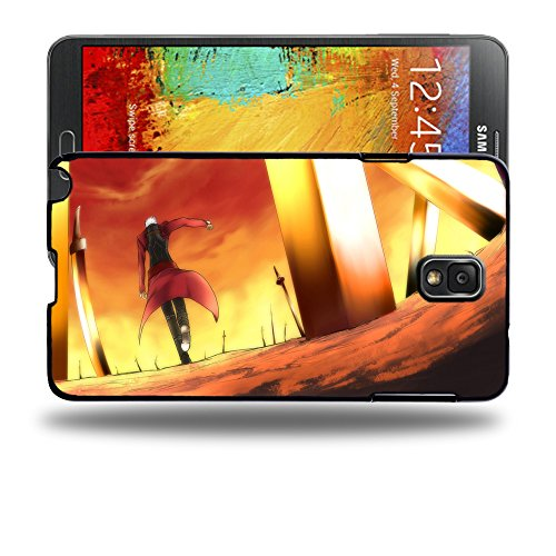 Case88 Designs Fate Stay Night Archer Unlimited Blade Works Protective Snap-on Hard Back Case Cover for Samsung Galaxy Note 3