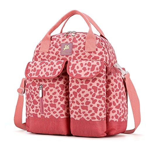 BigForest Multifunction Mummy Backpack waterproof Travel Bag Baby Diaper Nappy Changing Handbag tote bag Orange