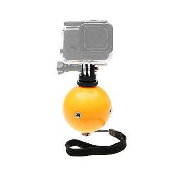 Deylaying Flotante Bola Fotografía Equipo - Flotabilidad Ball con Anti Perder Cuerda Adaptador Tornillo para GoPro Hero 7/Hero 6/Hero 5 Acción Cámara: ...