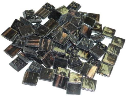 MosaixPro 200/g 10/x 10/x 4/mm 302-piece Glas Fliesen schwarz