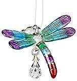 Woodstock Dragonfly Summer Rainbow Fantasy Glass- Rainbow Maker Collection