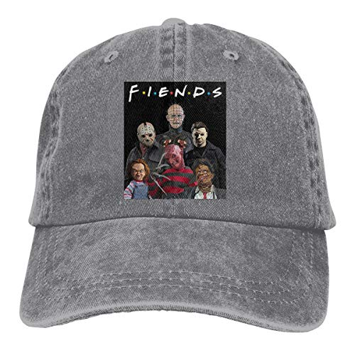 (Men's Woman's Adjustable with Friends Like This .Monster Mash Up Halloween Adult Cowboy Headgear)