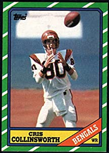 Football NFL 1986 Topps #258 Cris Collinsworth NM-MT Bengals