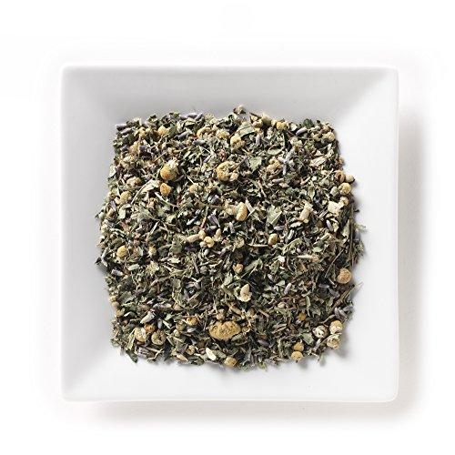 m Organic Tea 2 oz, Loose Leaf Herbal Herb Tea Blend (with valerian root, lemon verbena, lemon balm, chamomile, lavender, spearmint) ()