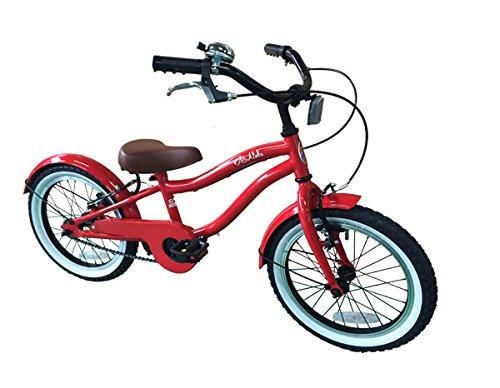 LeiAloha ~ レイアロハ ~ 16インチ RD <完成品> + 今なら自転車カバープレゼント! 【オリジナルブランド限定モデル】 B0718XRF2R