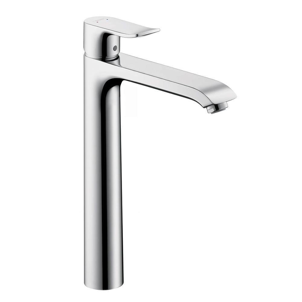 Hansgrohe 31082001 Metris 260 Single-Hole Faucet, Chrome - Bathroom ...