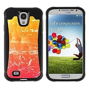 """Hypernova Defender Series TPU protection Cas Case Coque pour Samsung Galaxy S4 IV I9500 [haos Uzor svet cvet Shtrih ()""""]"""