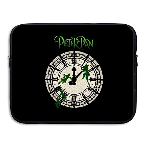 [Custom Peter Clock Pan Logo Waterproof Tablet Carrying Bag Size 13 Inch] (Peter Pan Cast Costumes)